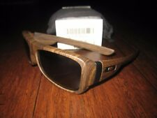 Oakley Montefrio Wood Grain with Grey lenses RARE NEW in BOX 30-691