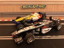 Scalextric F1 McLaren MP4-16 No4 y F1 equipo Renault ING No5 reparado y Nuevo Trenzas