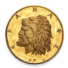 GRECIA Medaglia ERACLE Placcata Oro - Gold plated - Proof
