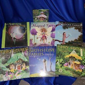 Fairy art supply: Magical Faery, Fariy Houses, Birthstone Faries. Llewellyn