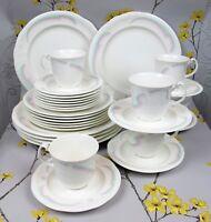 "Lovely vintage Royal Albert  HORIZONS ""Aurora"" DINNER SERVICE FOR 6. Plates cups"