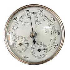 Precisione 3 in 1 Barometro Stazione meteo Barometro Termometro Igrometro