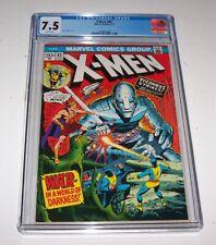 X-Men #82 - 1973 Marvel Bronze Age Issue - CGC VF- 7.5