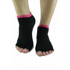 Toezies The Original 1/2 Toe Socks for Yoga/Pilates Pink Lipz