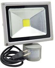 GLW Led Motion Sensor Flood Light, 20W 1500lm PIR Outdoor Waterproof Security