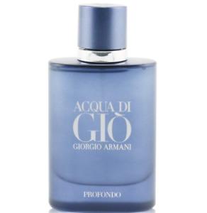 ACQUA DI GIO PROFUNDO by Giorgio Armani MEN 2.5oz-75ml EDP SPR -TST Box (IA03