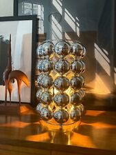 Mid Century Modern Space Age Kugellampe Spot 70s Pop Art Chrom lamp Retro