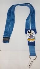 Disney Parks 2018 Mickey Mouse Walt Pin Lanyard  - NEW