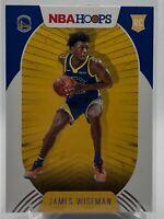 James Wiseman Rookie #205 NBA Hoops 2020-21 RC Golden State Warriors