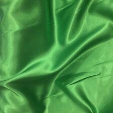 3Mts polyester satin emerald greenX150cm for shorts shirts garments crafts