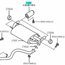 Genuine Toyota Front Pipe 17410-0P281