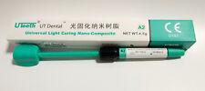 5Pc Dental Universal Nano-Composite Light Cure Resin Syringe A2 Color 4.5*5 USA