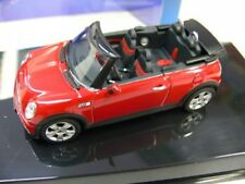 1/43 AUTOART Mini Cooper S cabriolet (rouge)