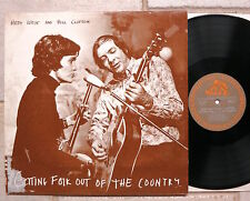 HEDY WEST and BILL CLIFTON – Getting Folk Out Of The Country  LP  Bear Family