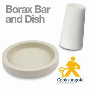 Cooksongold Jeweller's Borax Bar/Borax Cone and Dish - Also Available Separately