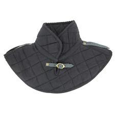 Handmade Knights Durable Cotton Padded Collar Medieval Garment Black Armor