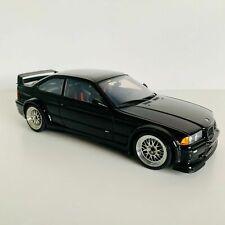 BMW E36 M3 GTR Coupé Black STREET CAR - 1/18 Diecast - UT Models - RARE !!!