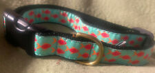 Up Country Dog Collar NWOT Tropical Fish XL