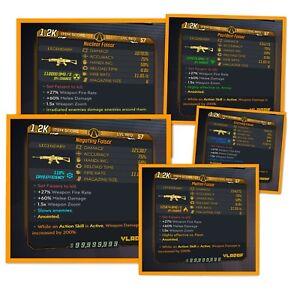 Borderlands 3 | Faisor | ALL Elements | LVL 57 | Modded | XBOX / PS4