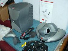 Polycom Ntsc Vsx 7000 Camera Subwoofer Microphone Remote Control Amp Cables