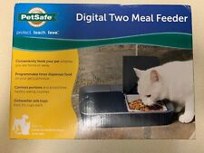 PetSafe Digital Two Meal Feeder New