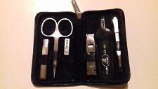 maniküre-nagelpflege -set-5teile -von twinox zwilling-yak-leder sehr gut