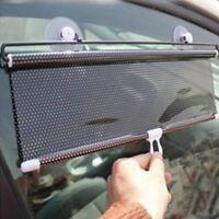 Car Window Sunshade Roller Block Side Curtain Blinds Sunscreen Sun Visor Shade