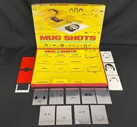 Vintage Mug Shots Game 1975 Cadaco 1975 Eyewitness Game Faces