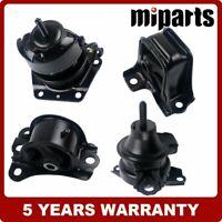 3PCS Rear/&Front Left Motor /&Trans Mount Kit for 98-99 Accourd 2.3L SOHC Auto