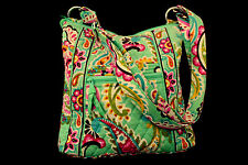 Designer Vera BradleyTutti Fruitti Crossbody Purse Bag Retired 2013 Paisley