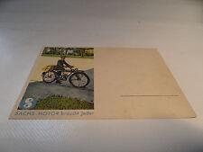 alte Karte Postkarte Fichtel & Sachs 98 ccm 98er  Nr. 10 .