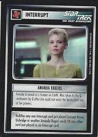 CCG Star Trek 12 Amanda Rogers [Foil] Promo