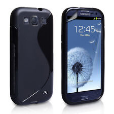 10 X Samsung Galaxy S3 SIII i9300 Grip S line Gel Cover Case