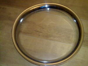 SAAB 96 BRAND NEW STEEL WHEEL RIM EMBELLISHERS X 4 (FREE UK POST)