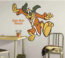 Hong Kong Phooey Figure Giant Peel and Stick Wall Decal Sticker NEW SEALED