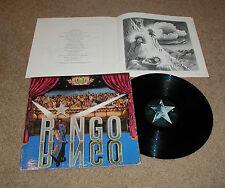 ROCK RINGO STARR RINGO LP RECORD VG+ INCLUDES BOOKLET