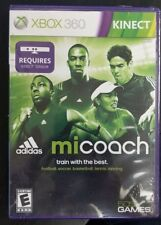 Mi Coach by adidas Xbox 360 Video Game NEW FACTORY SEALED