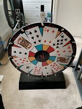 More details for ex-casino official spinning wheel -collectable rare