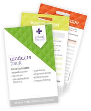 Critical Seconds Graduate Pack Cue Cards - Free postage (AUS)