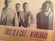"FOO FIGHTERS This Is A Call / Winnebago 7"" 1995 UK COLOR Vinyl NIRVANA FREE SHIP"