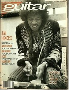 Guitar for the Practicing Musician September 1987 - Jimi Hendrix, AC/DC