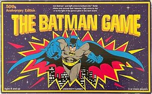 The Batman Game 50th Anniversary Edition University Games 1989 100% Complete