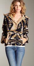 216. Elizabeth And James Textile Blue Knit Dakota Pullover M/L $465