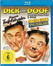 Laurel and Hardy - The Flying Deuces / Adventures in Toyland - Blu-Ray Disc -