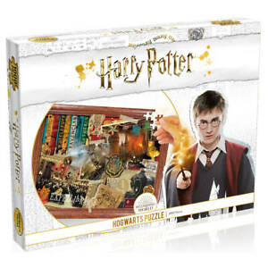 Harry Potter Hogwarts 1000 pc Puzzle: Featuring iconic scenes set in Hogwarts