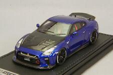 Ignition Model 1/43 Top Secret Nissan Skyline Gt-r R35 Blue Metallic IG1541 1 43
