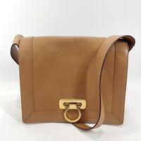 Salvatore Ferragamo Shoulder Bag Gancini leather Women