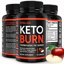 Weight Loss Pills Apple Cider Vinegar Capsules Fat Burner Keto Diet Supplements