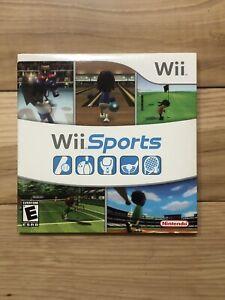 Nintendo Wii Sports Brand New Unopened! Cardboard Sleeve Sealed Original!