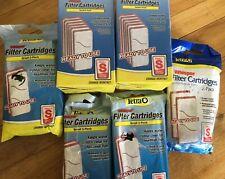 Tetra Aquarium Filter Cartridges Small S Lot of 20